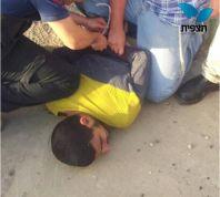 חדשות, חדשות בארץ ערבי ניסה לחטוף נשק ממאבטח בצ. עלי ונעצר