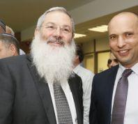 """חדשות, חדשות פוליטי מדיני """"אין סיבה שהבית היהודי תמשיך לדרוש את משרד הדתות"""""""