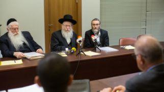 חדשות חרדים נציגי יהדות התורה נטשו בזעם את חדר המשא ומתן