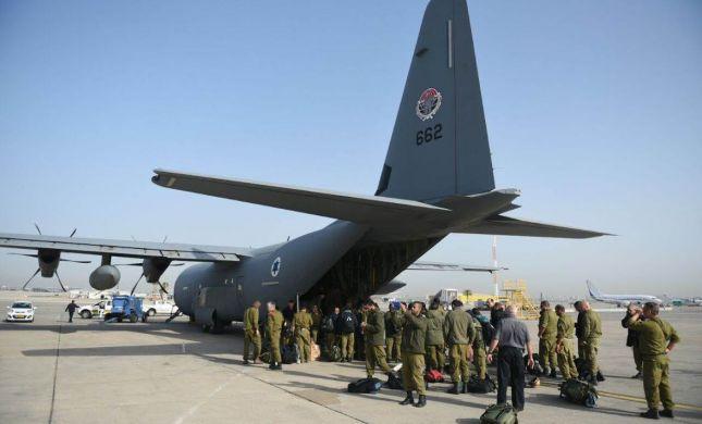 """צפו: משלחת הסיוע של צה""""ל בדרך לנפאל"""
