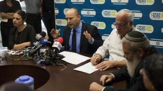 """חדשות המגזר, חדשות קורה עכשיו במגזר הבית היהודי: מפוצצים את המו""""מ עם הליכוד"""