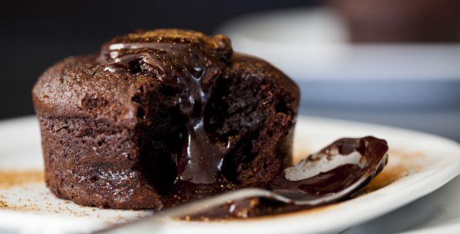 למנה אחרונה: סופלה שוקולד כשר לפסח