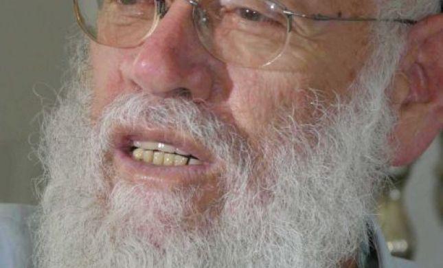 """נפטר הרב משה לוינגר זצ""""ל"""
