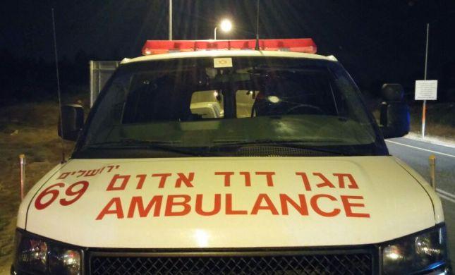 ערבים פתחו באש לעבר אמבולנס ליד בית-אל