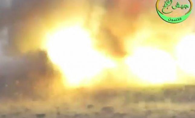 הגלגל מתהפך: טיל קורנט משמיד עמדת חיזבאללה