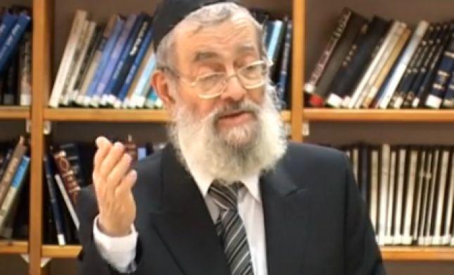 """הרב צוריאל: הצבעת """"ימין"""" - וקבלת לפיד כראש ממשלה"""