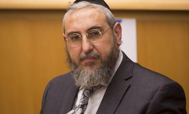המתנגדים לפשרה יחריבו את הרבנות הראשית