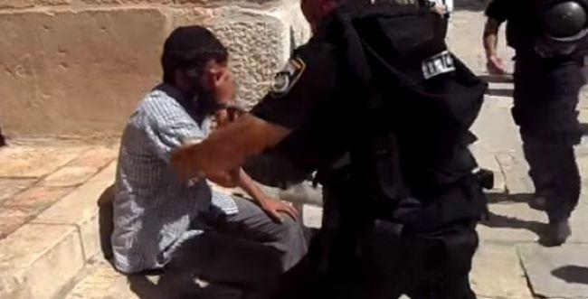 ט' באב בהר הבית: אמר 'שמע ישראל' ונעצר; צפו