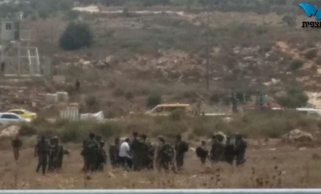 ברחן פלסטיני נורה בסמוך לצומת תפוח
