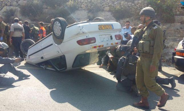 מחבל ערבי ניסה לרצוח ישראלים ליד שילה