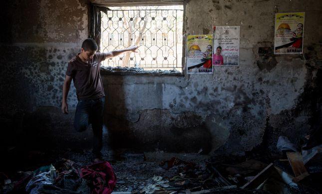 עוד בית של חמולת דוואבשה נשרף בכפר דומא; חשד לסכסוך פנימי