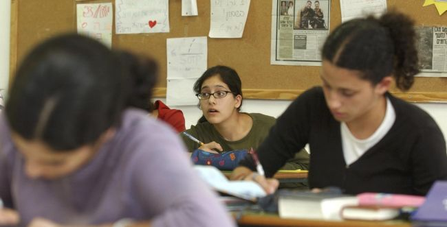 חצי מהתיכונים הערכיים: אולפנות וישיבות תיכוניות