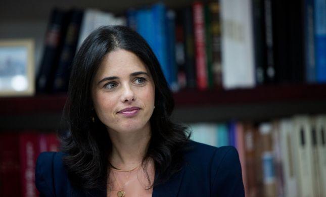 """שקד בהתקפה: """"מדינת ישראל חולה במשפטטת"""""""
