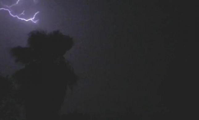 """מרהיב: """"לילה של אור במקום הנמוך בעולם"""""""