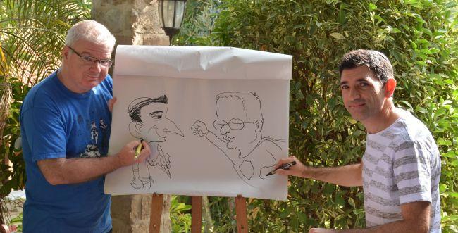 """אורי פינק: """"הדתיים הם קהל מעולה של קומיקס"""""""