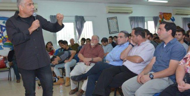 לפיד: לא להאשים את הציבור הסרוג ברצח רבין