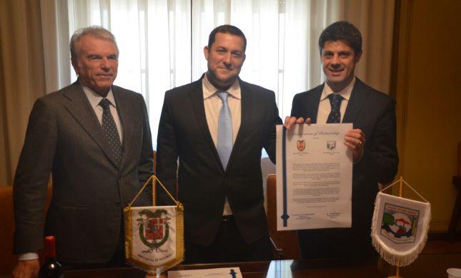 שיתוף פעולה כלכלי בין השומרון למחוז באיטליה