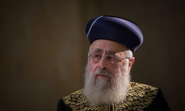 המהלך נכשל; הרב יוסף ממשיך לסכל מועמדים