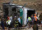חדשות, חדשות בארץ אוטובוס החיילים התהפך: חיילת נהרגה ו-50 נפצעו