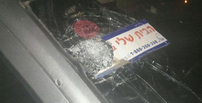 עשרה קליעים נורו לעבר נהג יהודי; אין נפגעים