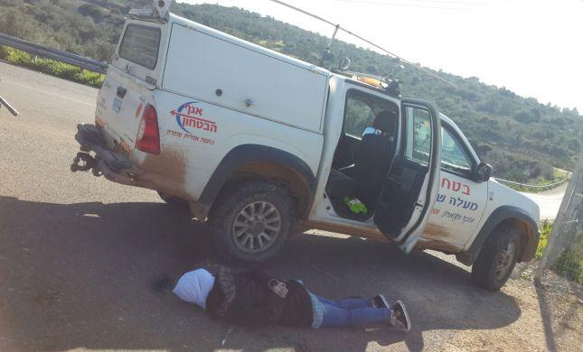 צפו: מחבלת בת 15 ניסתה לבצע פיגוע דקירה