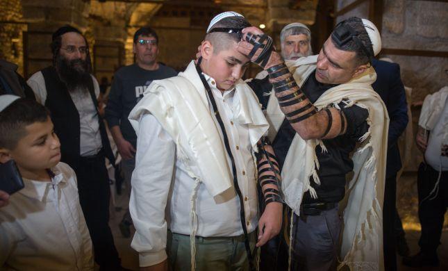 נס: נפצע אנוש בפסגת זאב והיום חגג בר מצווה
