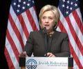 צפו: הילארי קלינטון לא מצליחה לסיים את הנאום