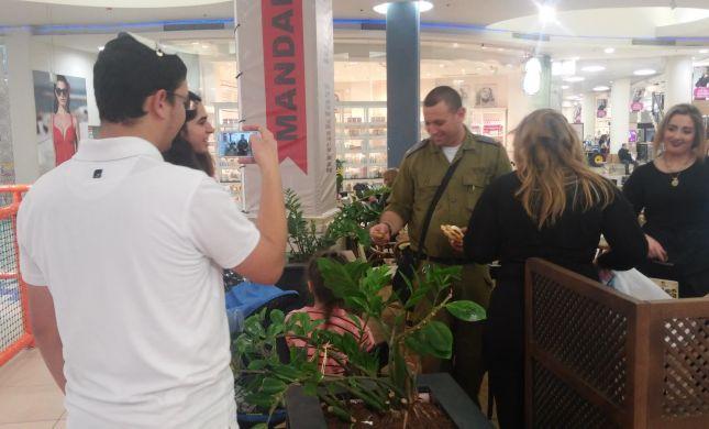 נוער הבית היהודי יצא להגיד תודה לחיילים