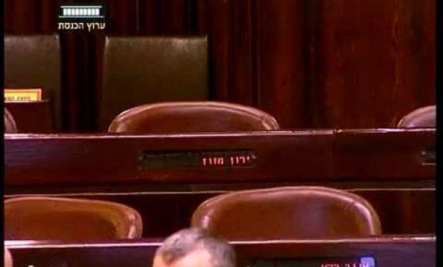 צפו: ירון מזוז נעדר מטקס השבעתו לסגן שר