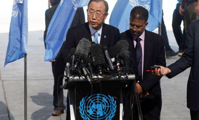 """מזכ""""ל האו""""ם על הטרור: """"תגובה טבעית לכיבוש"""""""