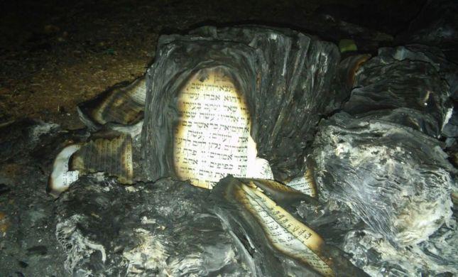 מזעזע: ערבים הציתו בית כנסת ליד כרמי צור