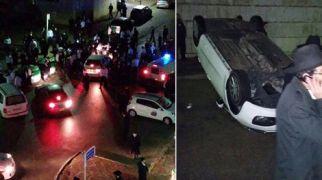 חדשות חרדים חרדים הפכו ניידת משטרה צבאית שבאה ללכוד עריק
