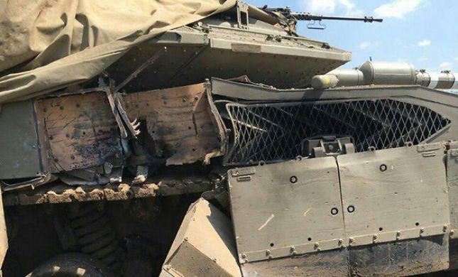 תאונת אימונים: טנק ירה בשוגג לעבר טנק אחר