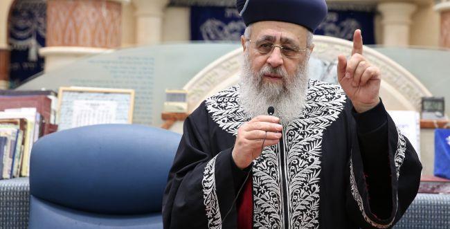 הרב יוסף מתקן: הדברים שאמרתי תיאורטיים בלבד