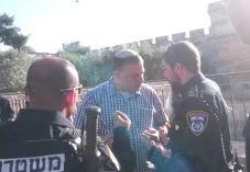 מביש: יהודי נעצר בהר הבית כי אמר 'דבר תורה'