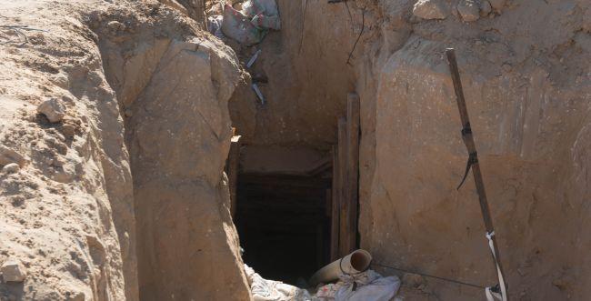 תיעוד ראשון: כך נראית המנהרה שנחשפה