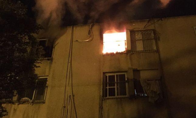אסון בחדרה: אישה נהרגה מדליקה בדירה