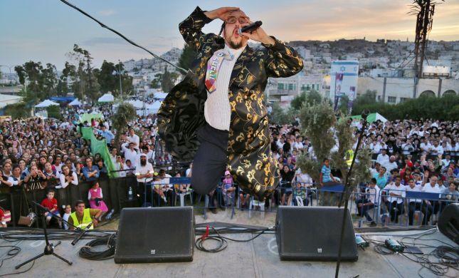 הופעת ענק בחברון: 50 שנה לשחרור העיר