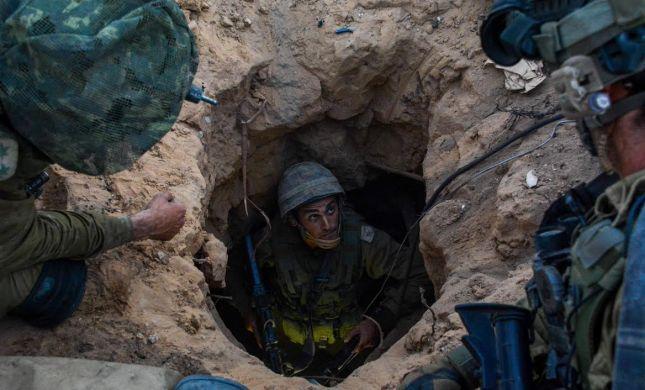 """צה""""ל חשף מנהרת טרור של החמאס בגבול עזה"""