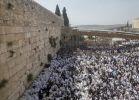 יהדות, על סדר היום 50,000 איש השתתפו במעמד ברכת הכהנים