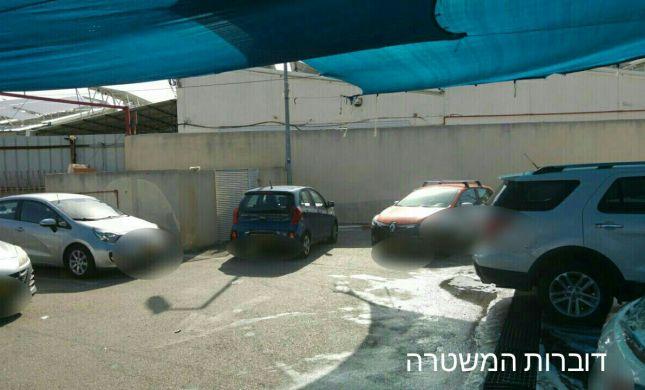 ושוב: נער בן 16 הסיע רכב במתקן לשטיפת מכוניות