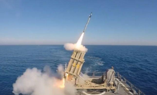 """מערכת """"כיפת ברזל"""" ימית הוכשרה לשימוש מבצעי בצה""""ל"""
