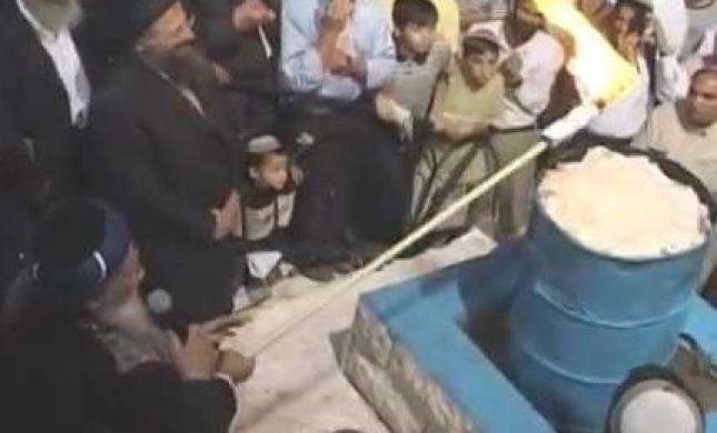 """ההדלקה האחרונה של הרב מרדכי אליהו זצ""""ל"""