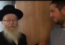 צפו• ליצמן הגיע לברך את האיש החזק בבית היהודי