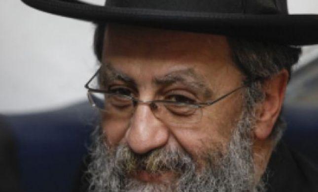 """הרב דוד יוסף: """"יושבים שם פוליטיקאים מושחתים"""""""