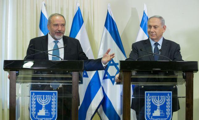 """ליברמן שובר שמאלה: """"תומך בפתרון שתי המדינות"""""""