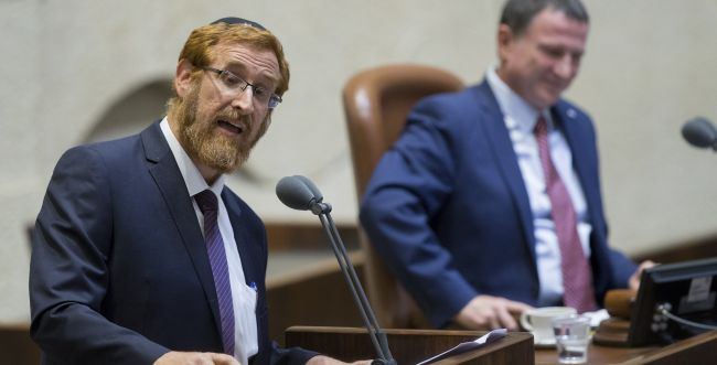 חבר הכנסת יהודה גליק פותח בשביתת רעב