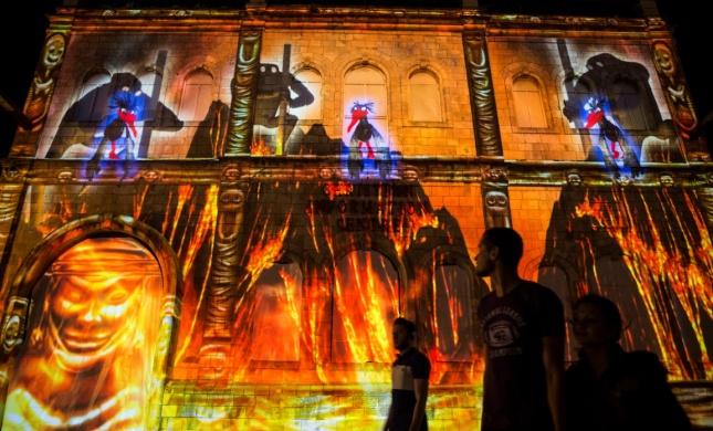 הרב אבינר: אסור ללכת לפסטיבל האור בירושלים