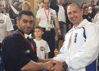ספורט, תרבות לחיצת יד נדירה בין מאמן ישראלי ואיראני