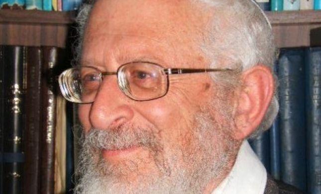 """הרב ישראל רוזן: """"הלכה ציונית? אין דבר כזה"""""""